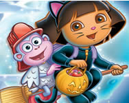 Dora the explorer this is halloween online játék