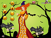 Halloween day dress up halloween játékok