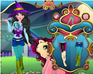 My Little Pony halloween dressup játék